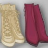 Ankle Boots Anime