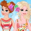 Anna And Elsa Tropical Vacation