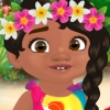 Baby Moana Gets Tidy