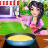 Caramel Layer Cake Cooking