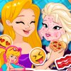 Disney Princesses Pizza Party