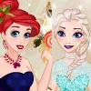 Disney Princess Glittery Party