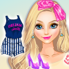 Elsa As Malibu Barbie