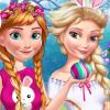 Elsa And Anna Easter Fun