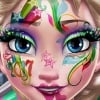 Elsa New Year Makeup