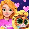 Blonde Princess Kitty Rescue