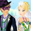 Mardi Gras Wedding