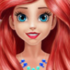 Mermaid Princess Glossy Makeup
