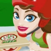 Girl On Skates Pizza Blaze