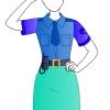 Police Girl Fashion