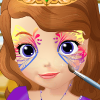 Princess Sofia Face Art