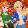 Princess Fall Flannel