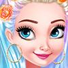 Princesses Colorful Braids And Pedicure