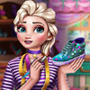 Frozen Princess Sneakers Design