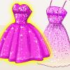 Super Barbie's Glittery Dresses